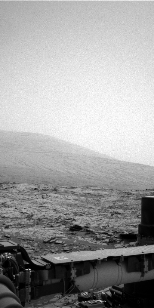 NASA's Mars rover Curiosity acquired this image using its Left Navigation Camera (Navcams) on Sol 823
