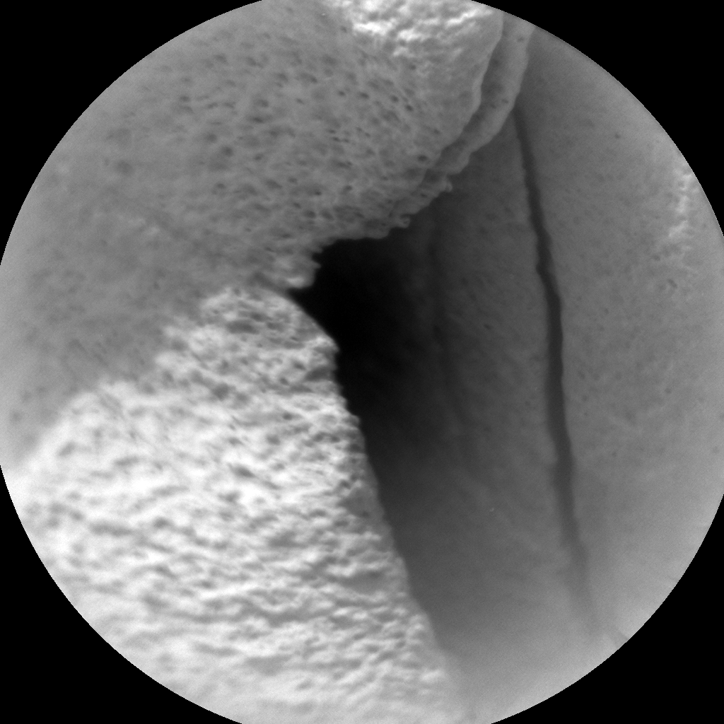 Nasa's Mars rover Curiosity acquired this image using its Chemistry & Camera (ChemCam) on Sol 823, at drive 1828, site number 44