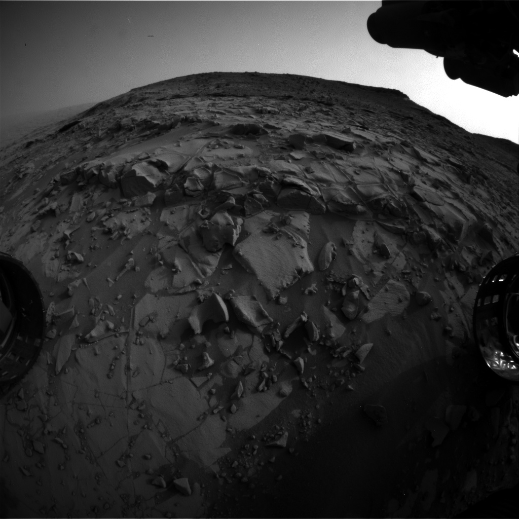 Nasa's Mars rover Curiosity acquired this image using its Front Hazard Avoidance Camera (Front Hazcam) on Sol 824, at drive 1828, site number 44