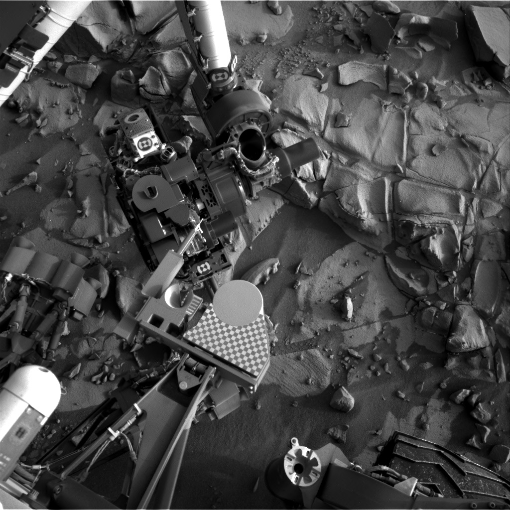 Nasa's Mars rover Curiosity acquired this image using its Right Navigation Camera on Sol 824, at drive 1828, site number 44