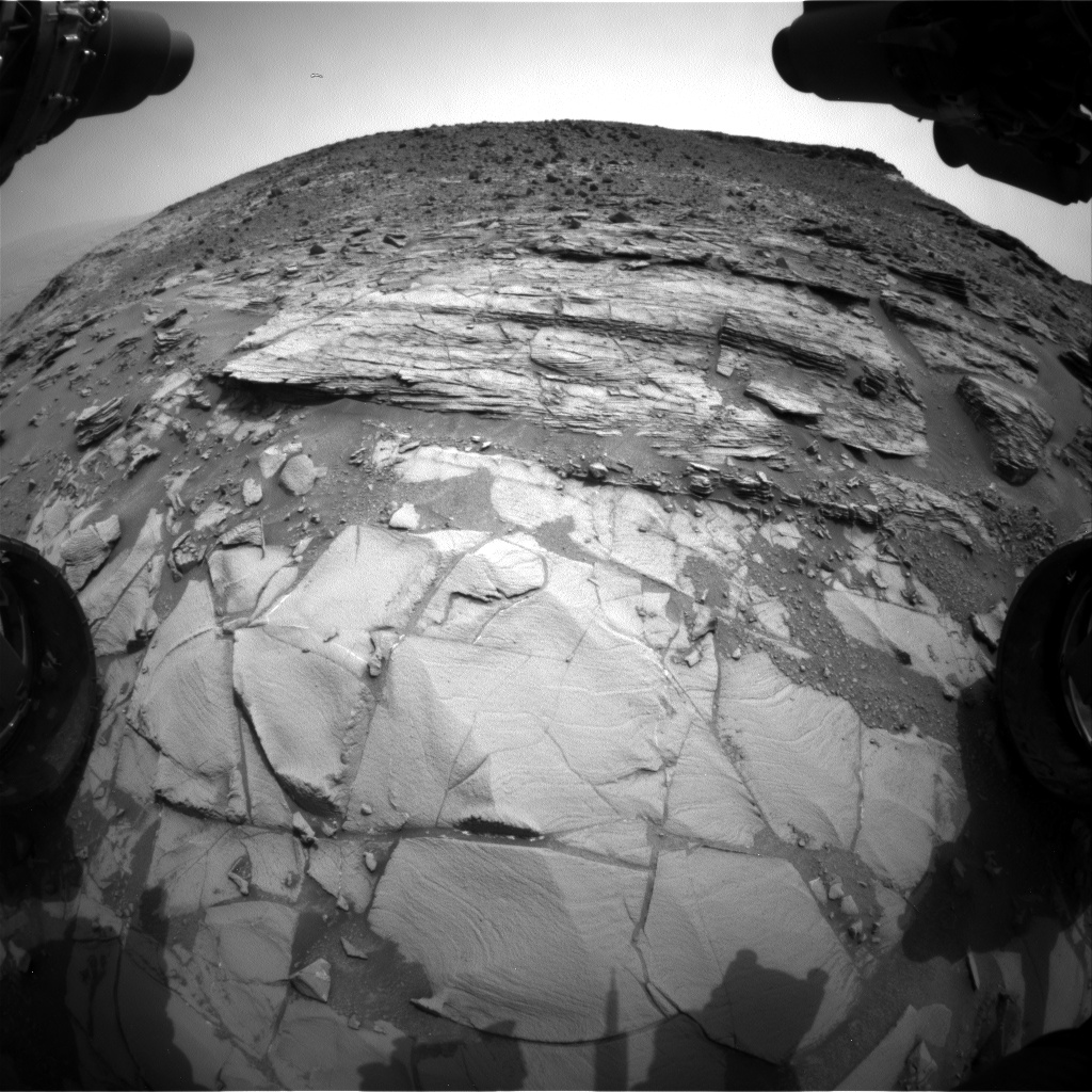 Nasa's Mars rover Curiosity acquired this image using its Front Hazard Avoidance Camera (Front Hazcam) on Sol 826, at drive 2062, site number 44