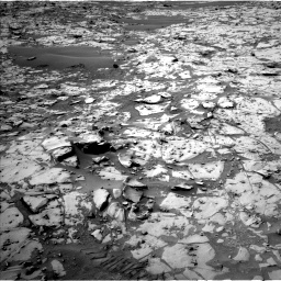 Nasa's Mars rover Curiosity acquired this image using its Left Navigation Camera on Sol 826, at drive 1828, site number 44