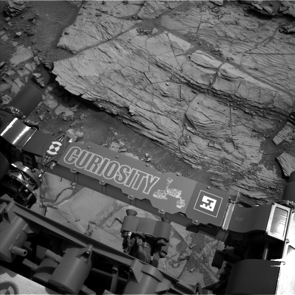 NASA's Mars rover Curiosity acquired this image using its Left Navigation Camera (Navcams) on Sol 826