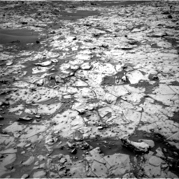 Nasa's Mars rover Curiosity acquired this image using its Right Navigation Camera on Sol 826, at drive 1834, site number 44
