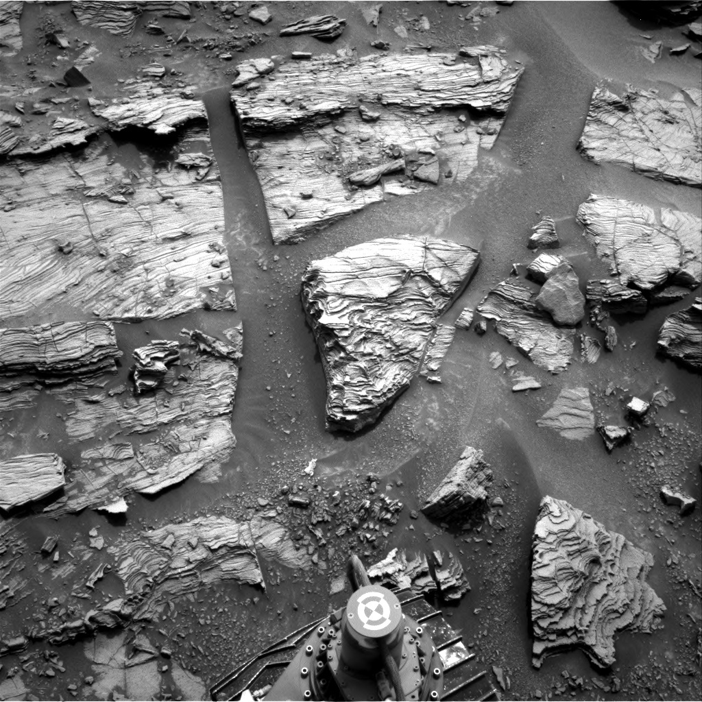 NASA's Mars rover Curiosity acquired this image using its Right Navigation Cameras (Navcams) on Sol 826