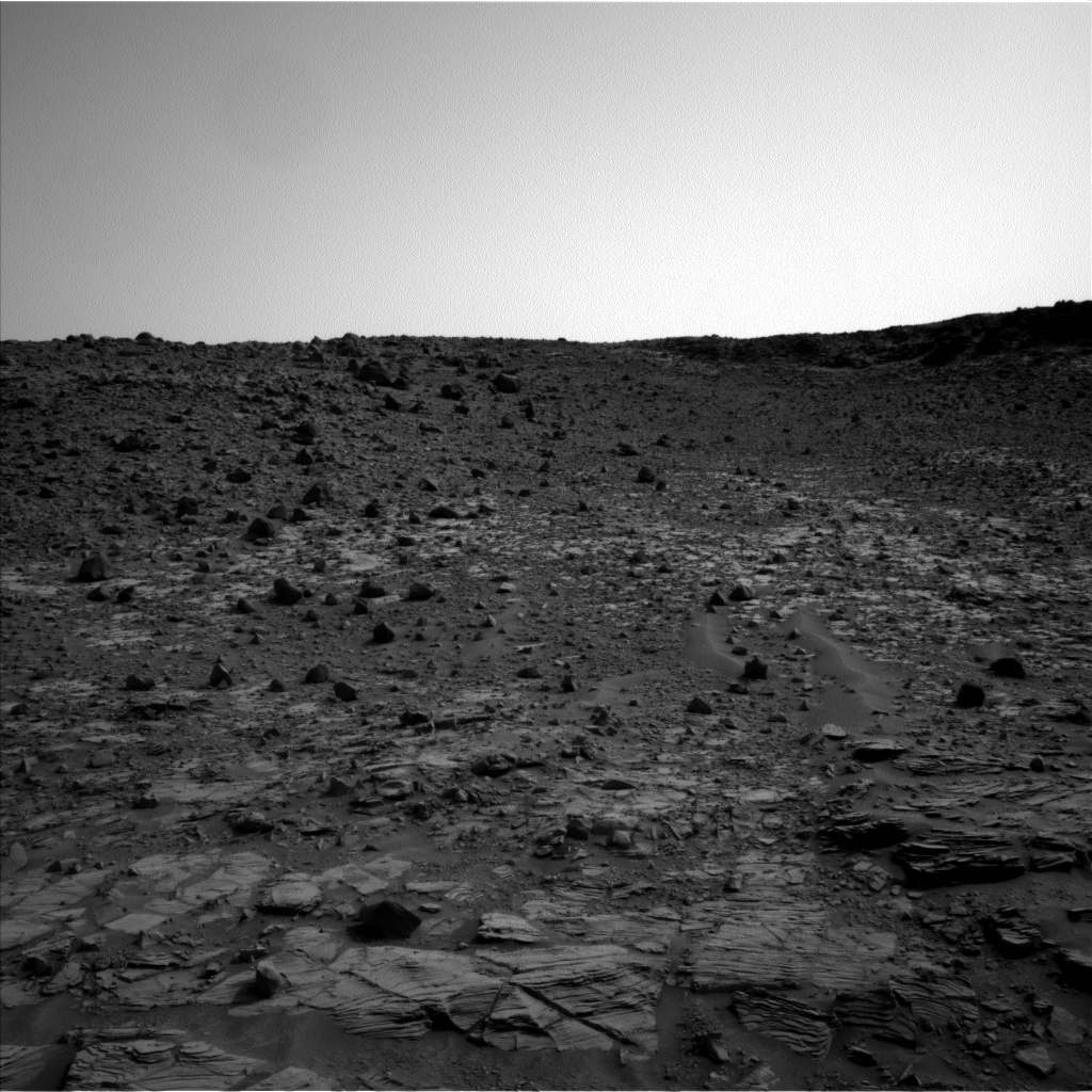 Nasa's Mars rover Curiosity acquired this image using its Left Navigation Camera on Sol 831, at drive 2062, site number 44