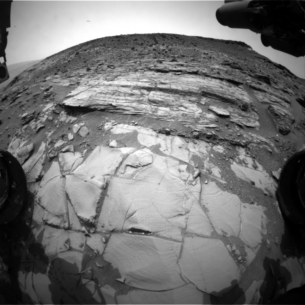 Nasa's Mars rover Curiosity acquired this image using its Front Hazard Avoidance Camera (Front Hazcam) on Sol 832, at drive 2062, site number 44