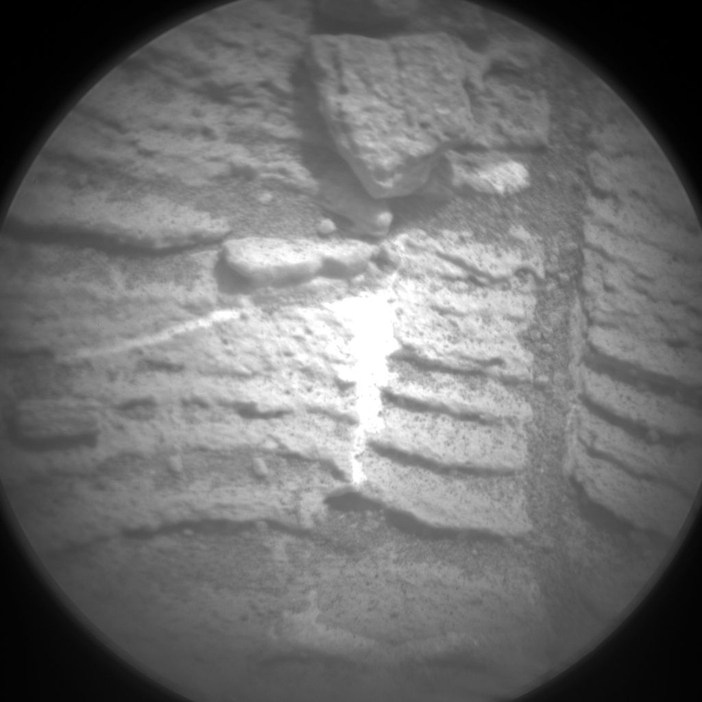 Nasa's Mars rover Curiosity acquired this image using its Chemistry & Camera (ChemCam) on Sol 833, at drive 2062, site number 44