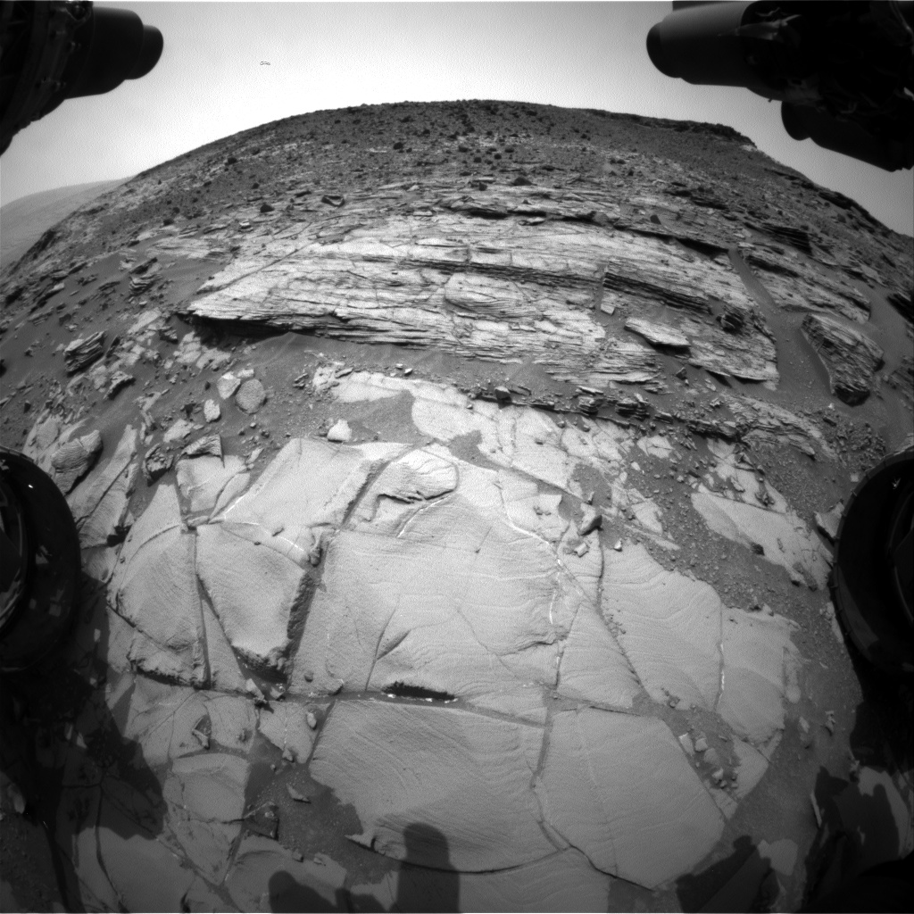 Nasa's Mars rover Curiosity acquired this image using its Front Hazard Avoidance Camera (Front Hazcam) on Sol 835, at drive 2062, site number 44