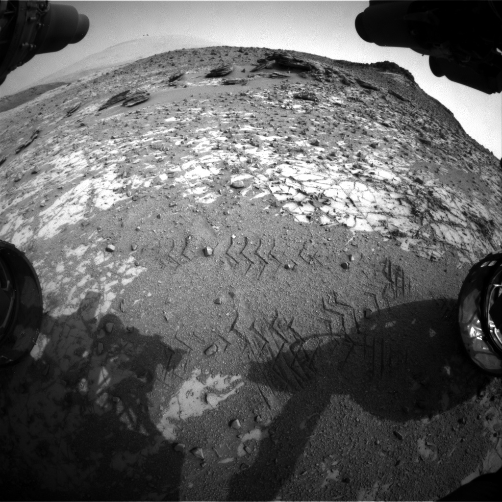 Nasa's Mars rover Curiosity acquired this image using its Front Hazard Avoidance Camera (Front Hazcam) on Sol 835, at drive 2336, site number 44