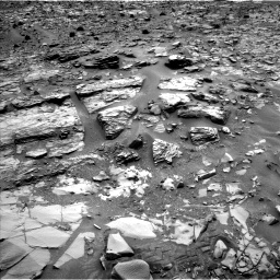 Nasa's Mars rover Curiosity acquired this image using its Left Navigation Camera on Sol 835, at drive 2092, site number 44