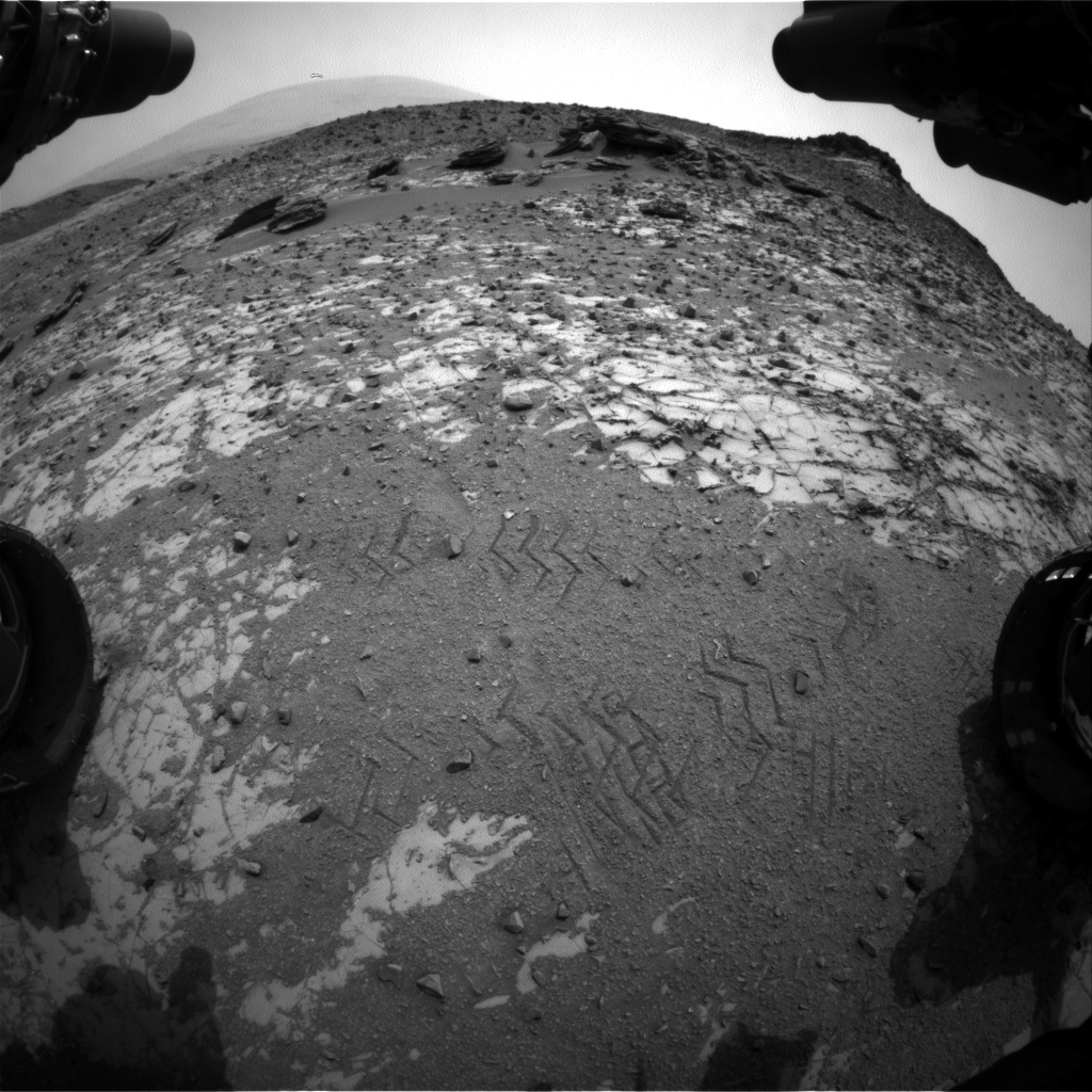 Nasa's Mars rover Curiosity acquired this image using its Front Hazard Avoidance Camera (Front Hazcam) on Sol 837, at drive 2336, site number 44