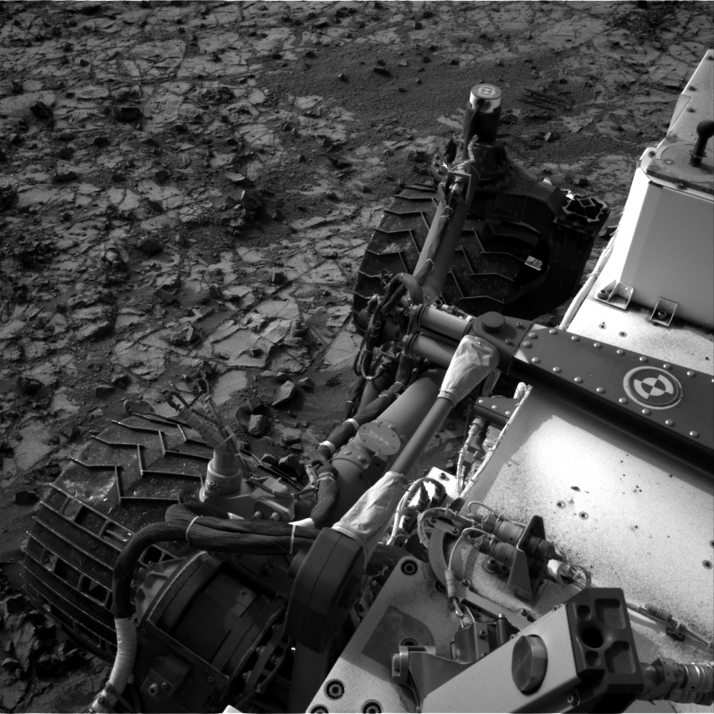 Nasa's Mars rover Curiosity acquired this image using its Right Navigation Camera on Sol 837, at drive 2414, site number 44
