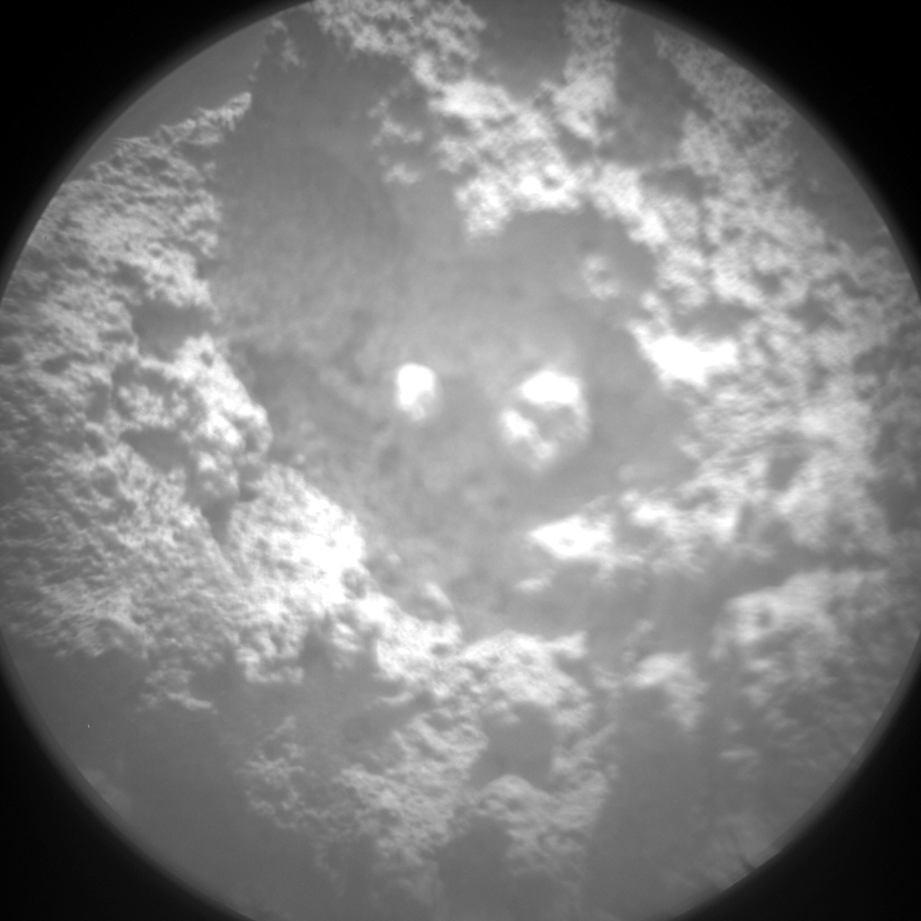 NASA's Mars rover Curiosity acquired this image using its Chemistry & Camera (ChemCam) on Sol 843