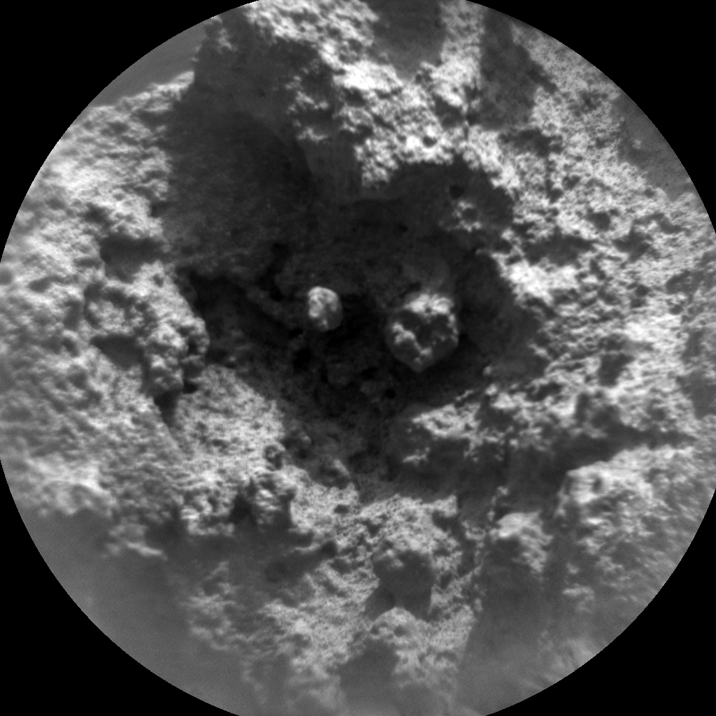 Nasa's Mars rover Curiosity acquired this image using its Chemistry & Camera (ChemCam) on Sol 843, at drive 2414, site number 44