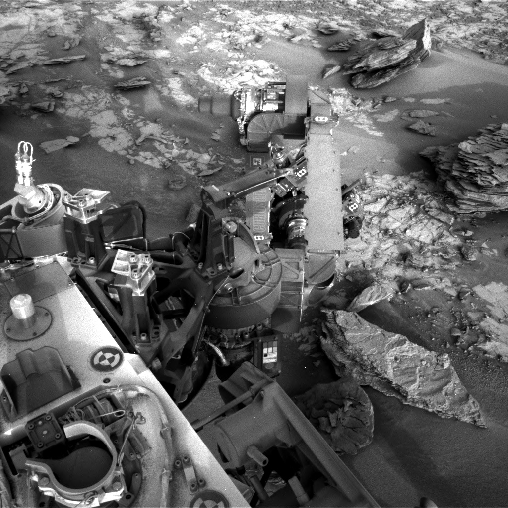 Nasa's Mars rover Curiosity acquired this image using its Left Navigation Camera on Sol 844, at drive 2414, site number 44
