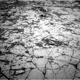 Nasa's Mars rover Curiosity acquired this image using its Left Navigation Camera on Sol 864, at drive 2964, site number 44