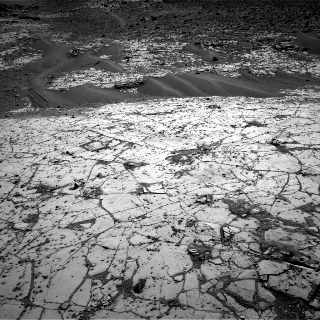 Nasa's Mars rover Curiosity acquired this image using its Left Navigation Camera on Sol 864, at drive 0, site number 45