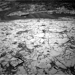 Nasa's Mars rover Curiosity acquired this image using its Right Navigation Camera on Sol 864, at drive 2988, site number 44