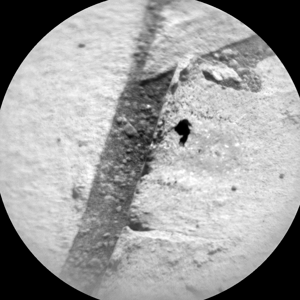 Nasa's Mars rover Curiosity acquired this image using its Chemistry & Camera (ChemCam) on Sol 864, at drive 2958, site number 44