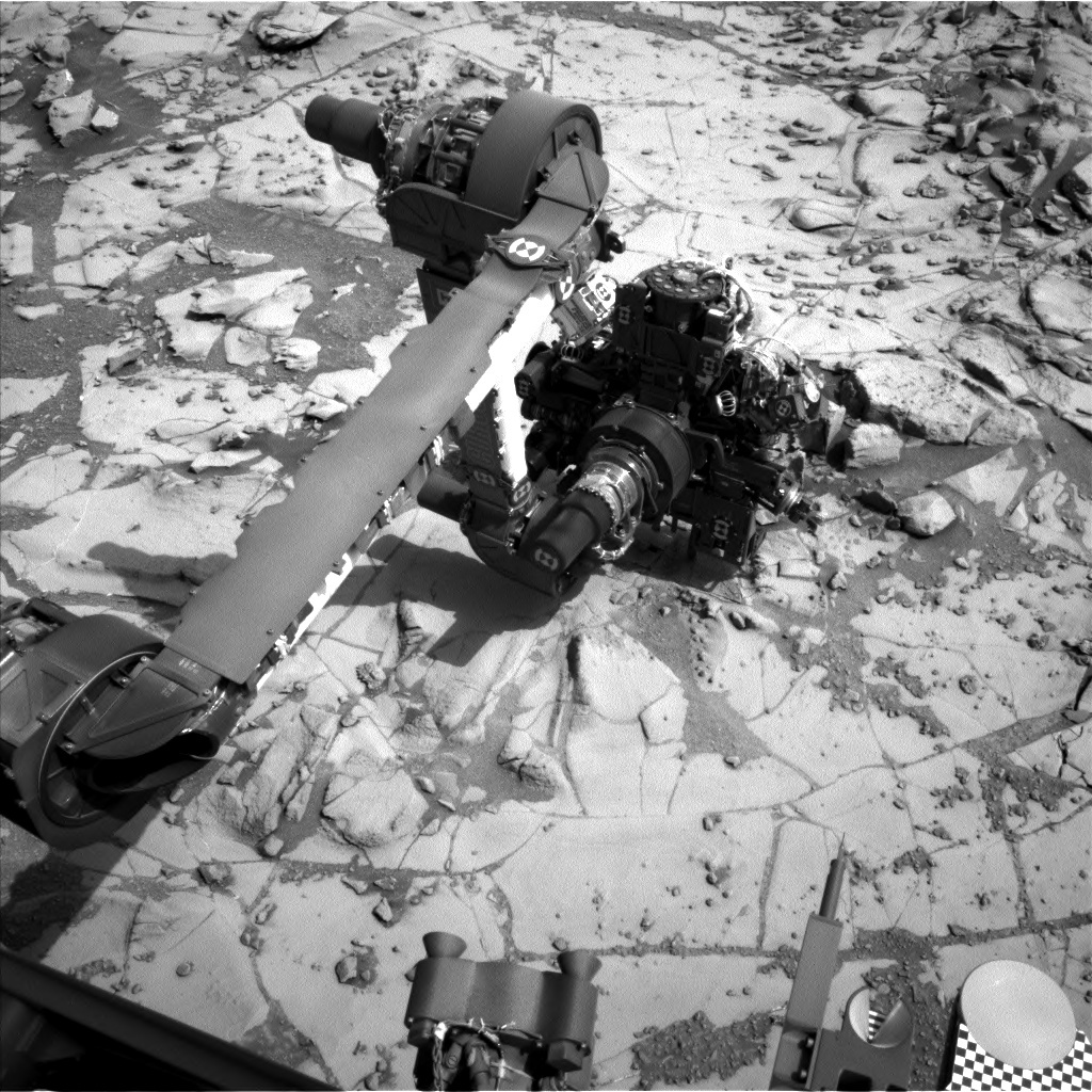 NASA's Mars rover Curiosity acquired this image using its Left Navigation Camera (Navcams) on Sol 867