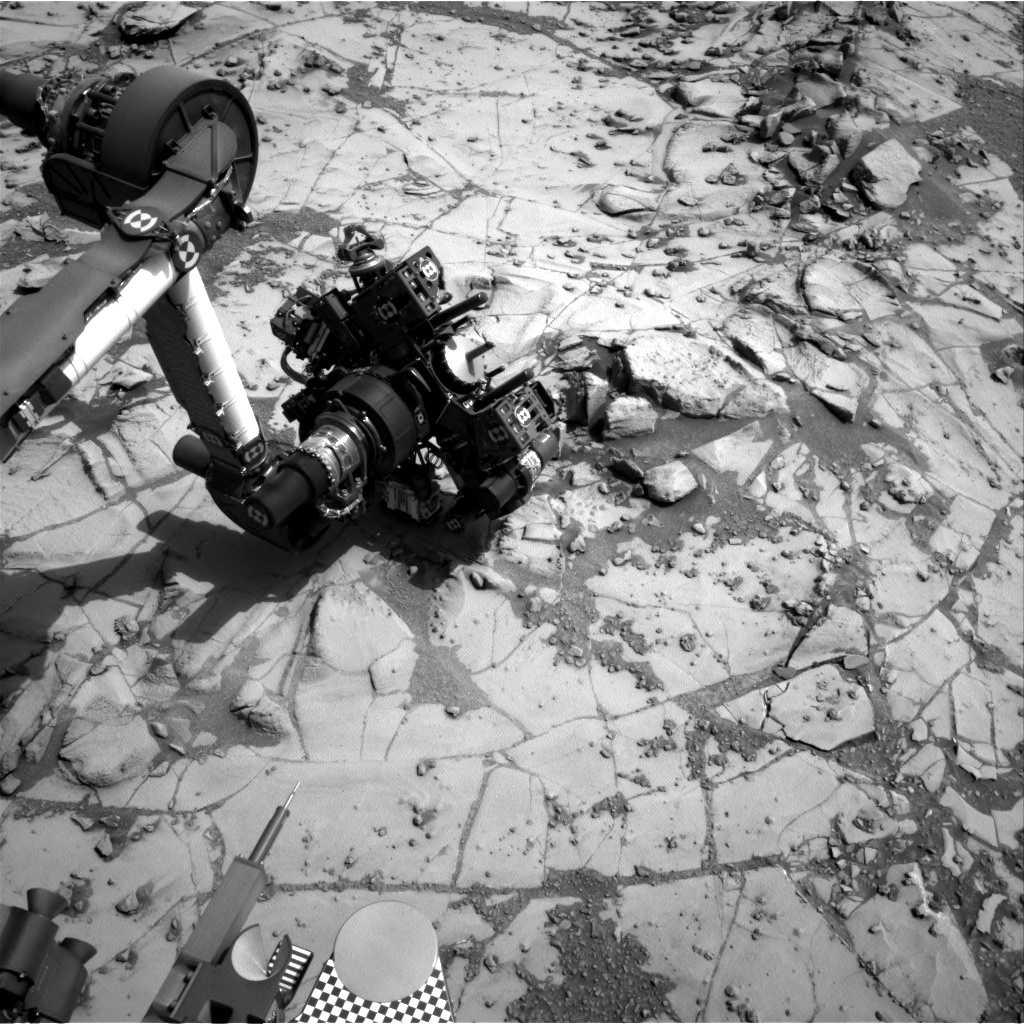 Nasa's Mars rover Curiosity acquired this image using its Right Navigation Camera on Sol 867, at drive 0, site number 45