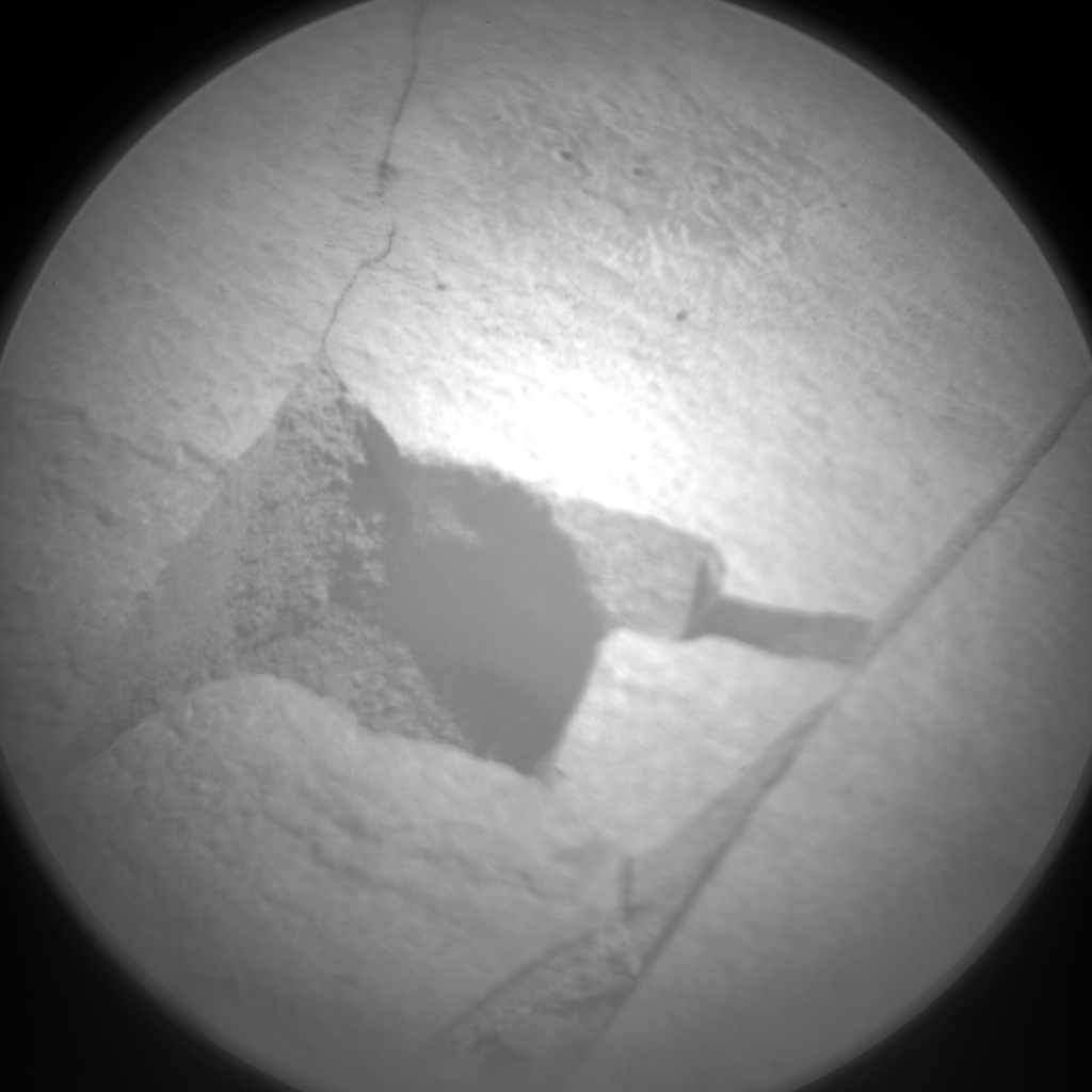 Nasa's Mars rover Curiosity acquired this image using its Chemistry & Camera (ChemCam) on Sol 869, at drive 0, site number 45