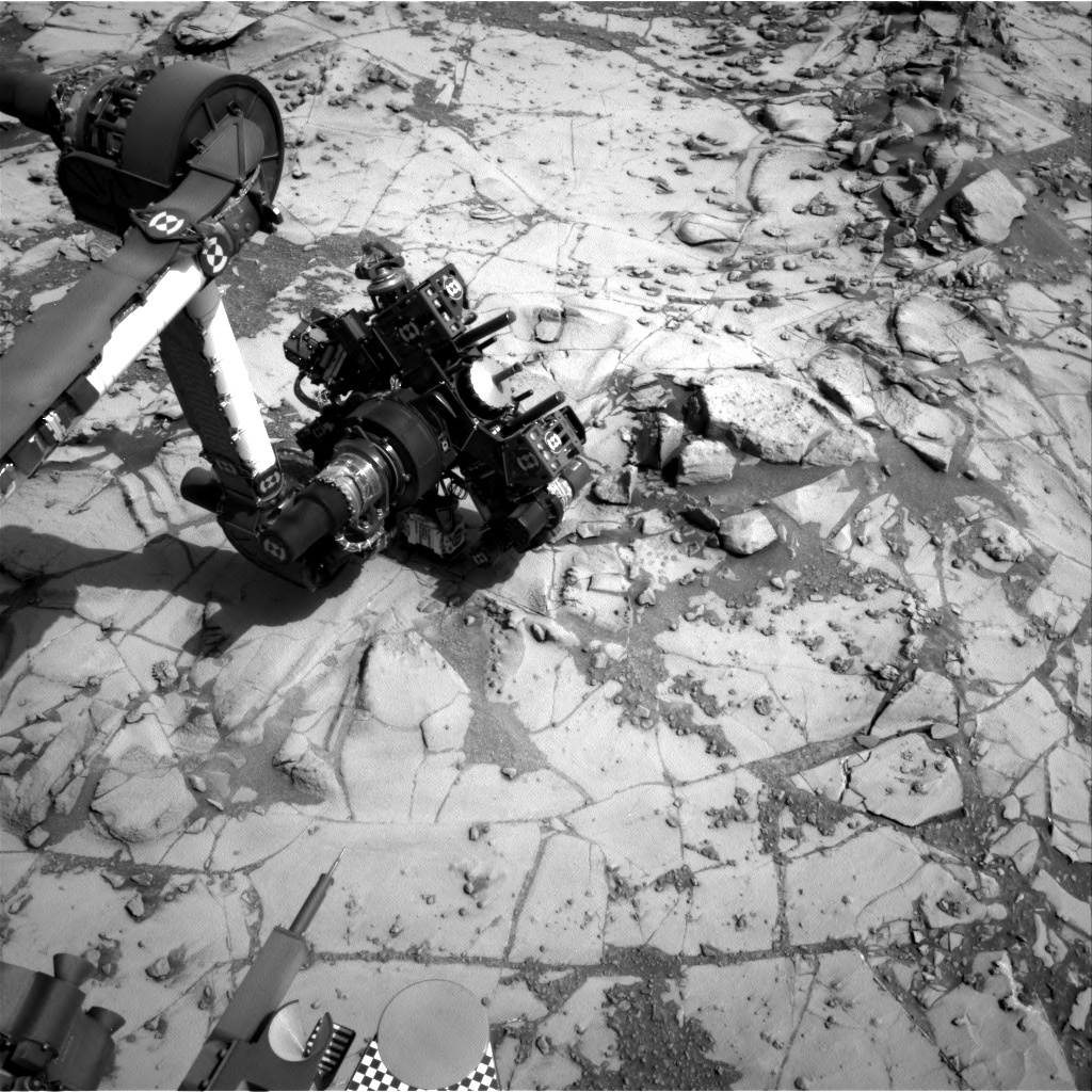 Nasa's Mars rover Curiosity acquired this image using its Right Navigation Camera on Sol 871, at drive 0, site number 45