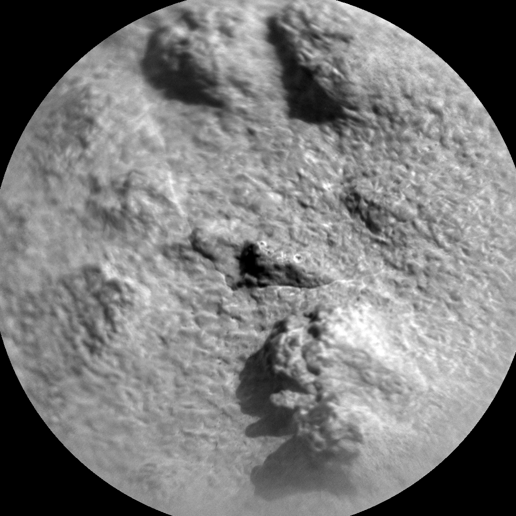 Nasa's Mars rover Curiosity acquired this image using its Chemistry & Camera (ChemCam) on Sol 871, at drive 0, site number 45