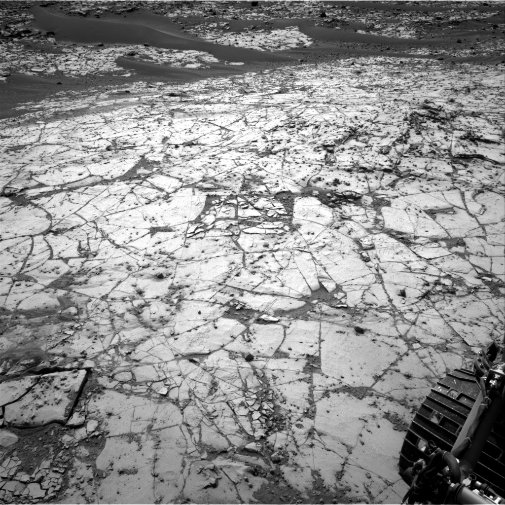 Nasa's Mars rover Curiosity acquired this image using its Right Navigation Camera on Sol 872, at drive 0, site number 45