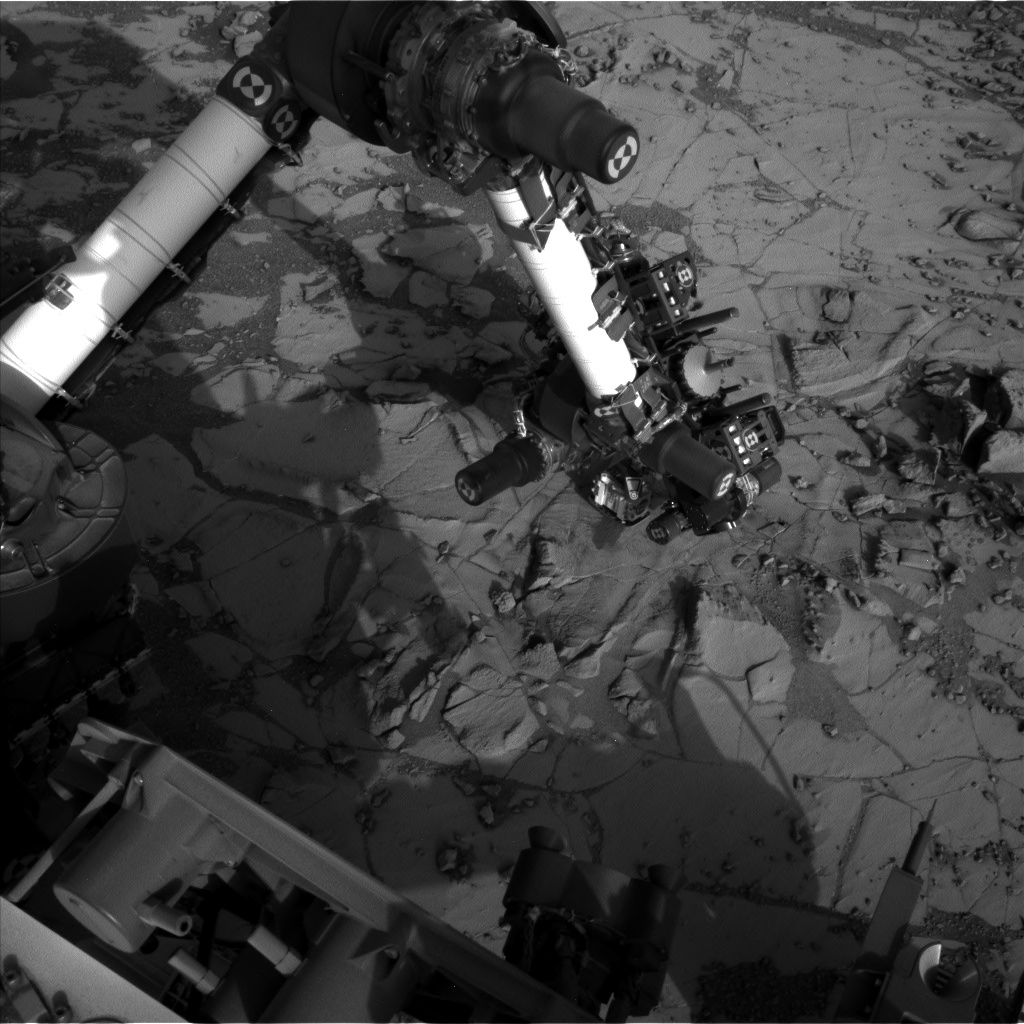 Nasa's Mars rover Curiosity acquired this image using its Left Navigation Camera on Sol 881, at drive 0, site number 45