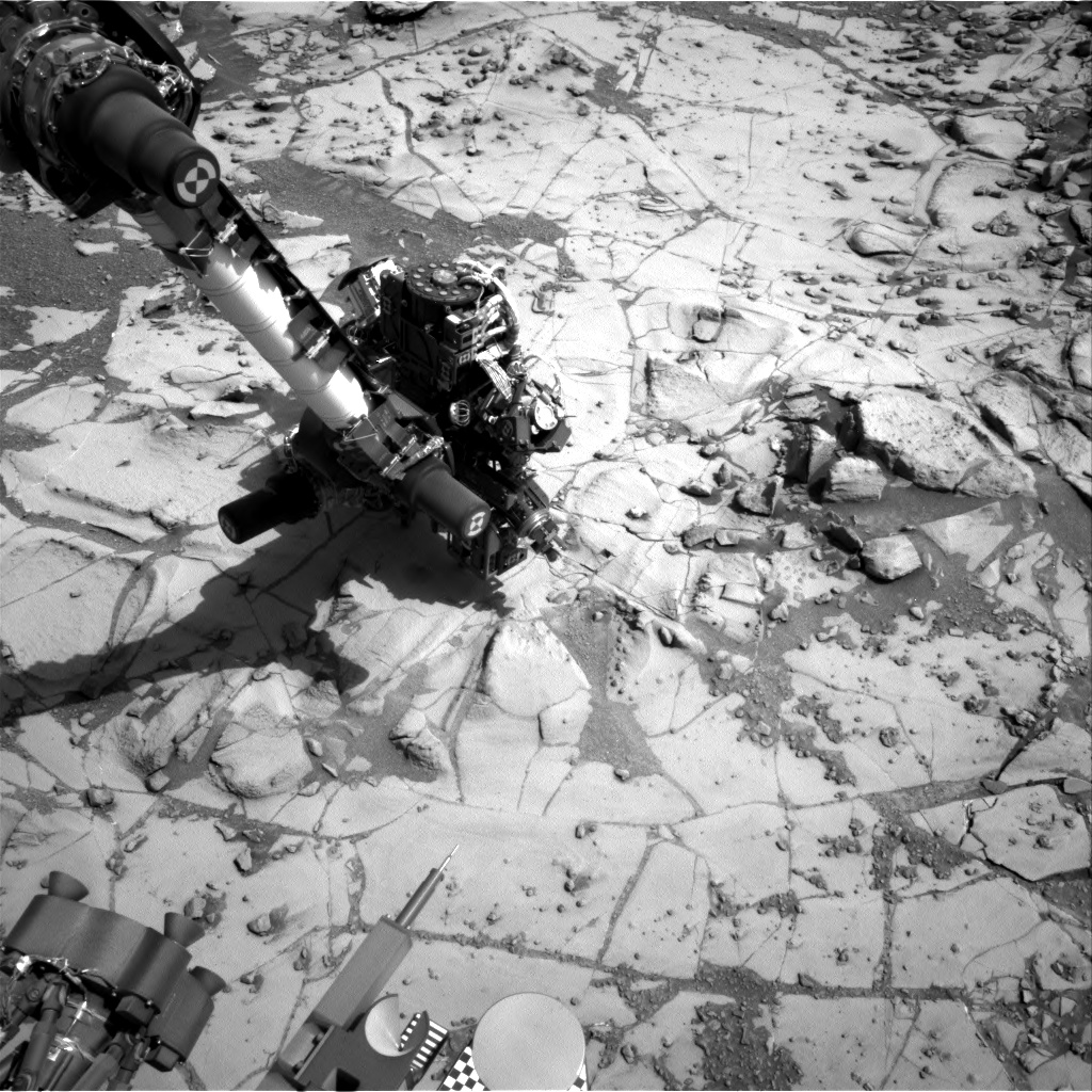 Nasa's Mars rover Curiosity acquired this image using its Right Navigation Camera on Sol 881, at drive 0, site number 45