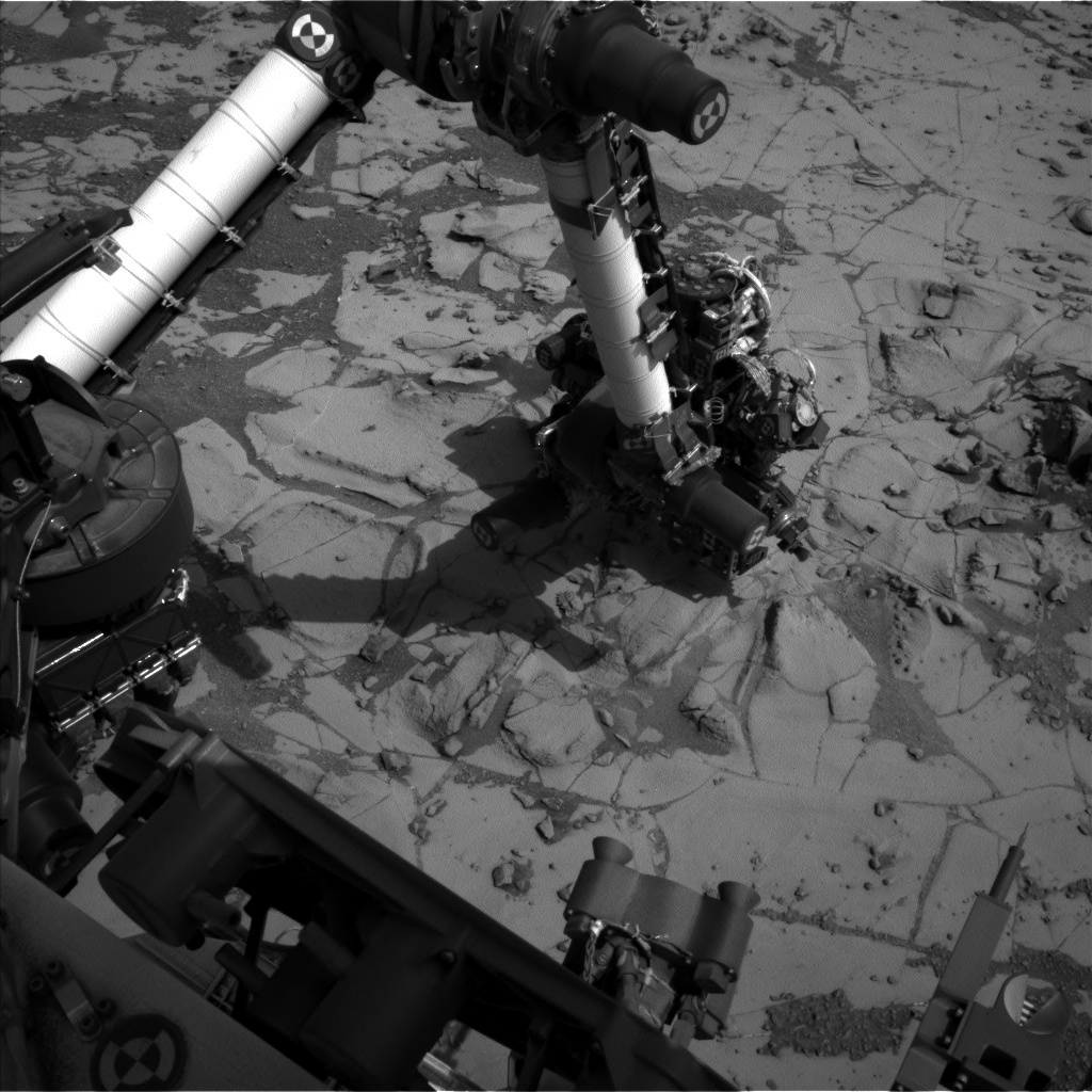 Nasa's Mars rover Curiosity acquired this image using its Left Navigation Camera on Sol 882, at drive 0, site number 45