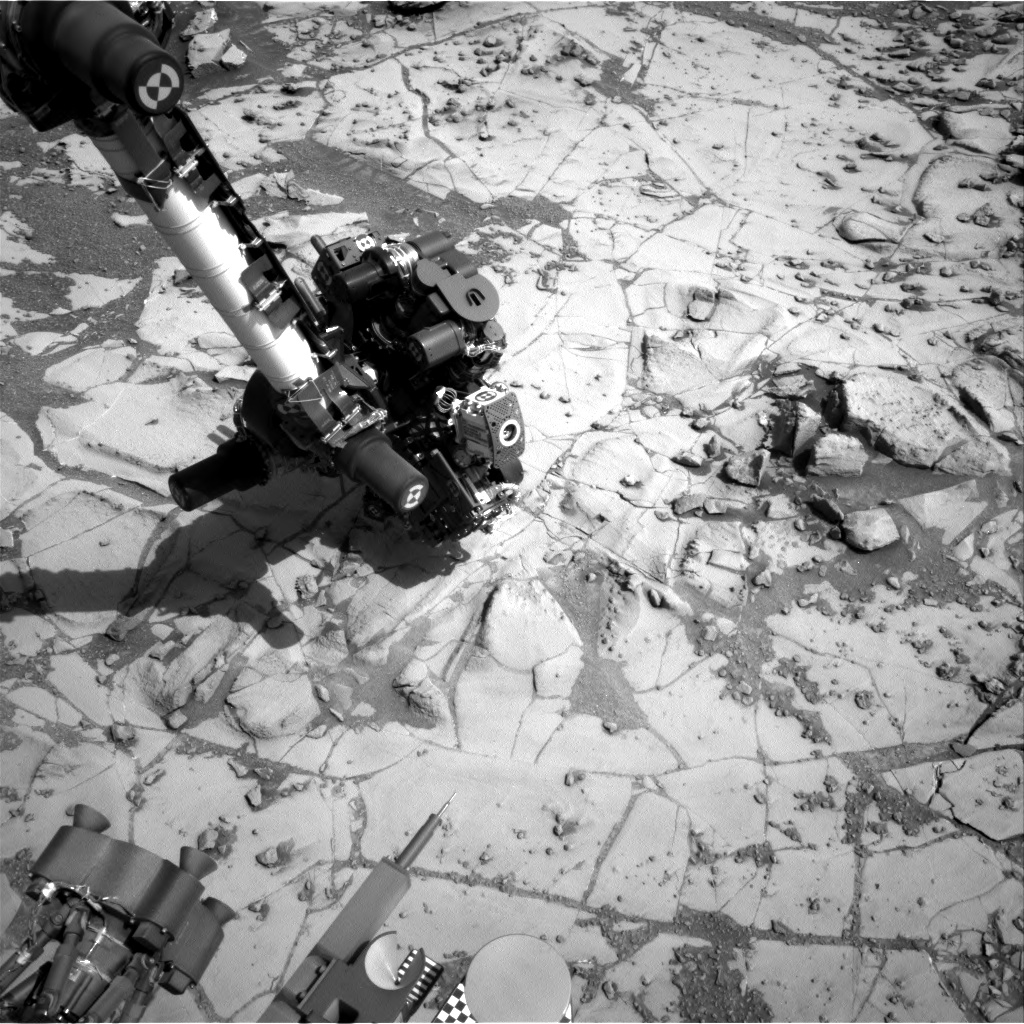 Nasa's Mars rover Curiosity acquired this image using its Right Navigation Camera on Sol 882, at drive 0, site number 45