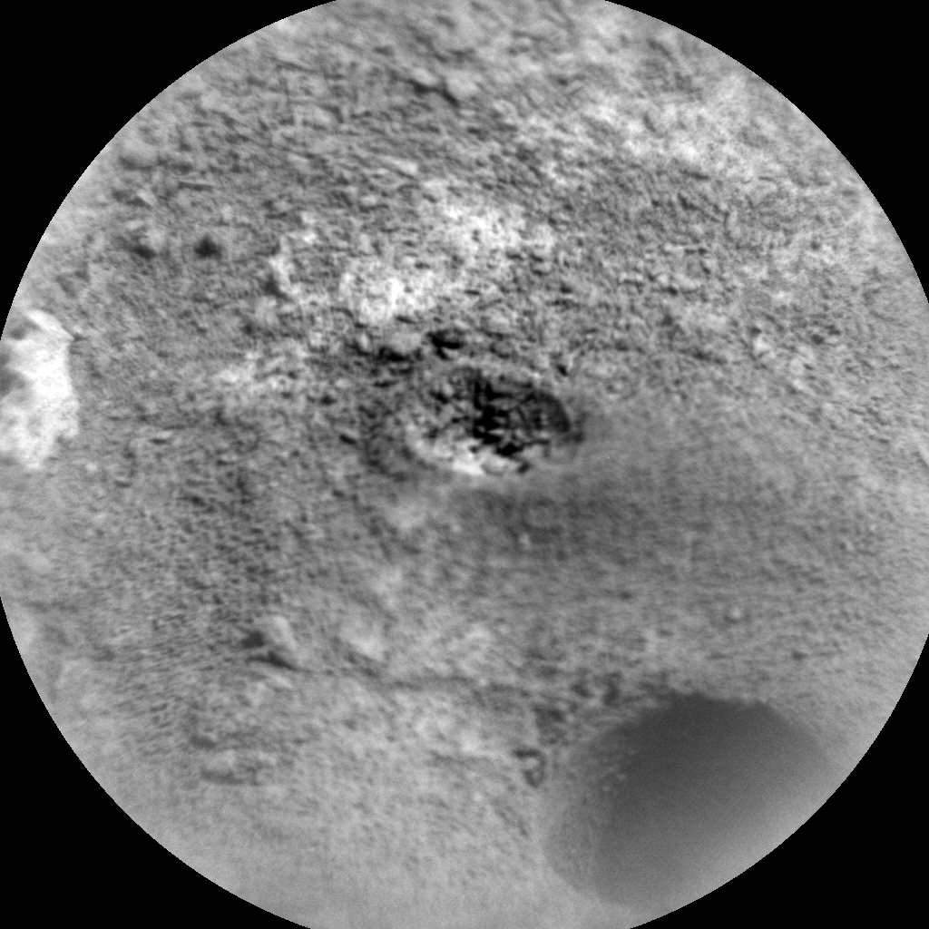 Nasa's Mars rover Curiosity acquired this image using its Chemistry & Camera (ChemCam) on Sol 883, at drive 0, site number 45