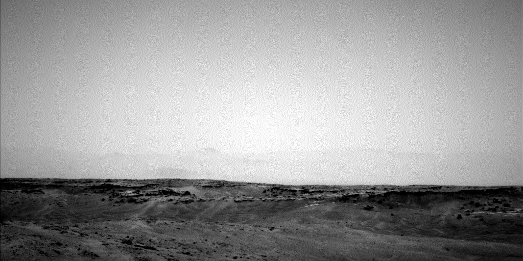 Nasa's Mars rover Curiosity acquired this image using its Left Navigation Camera on Sol 886, at drive 0, site number 45