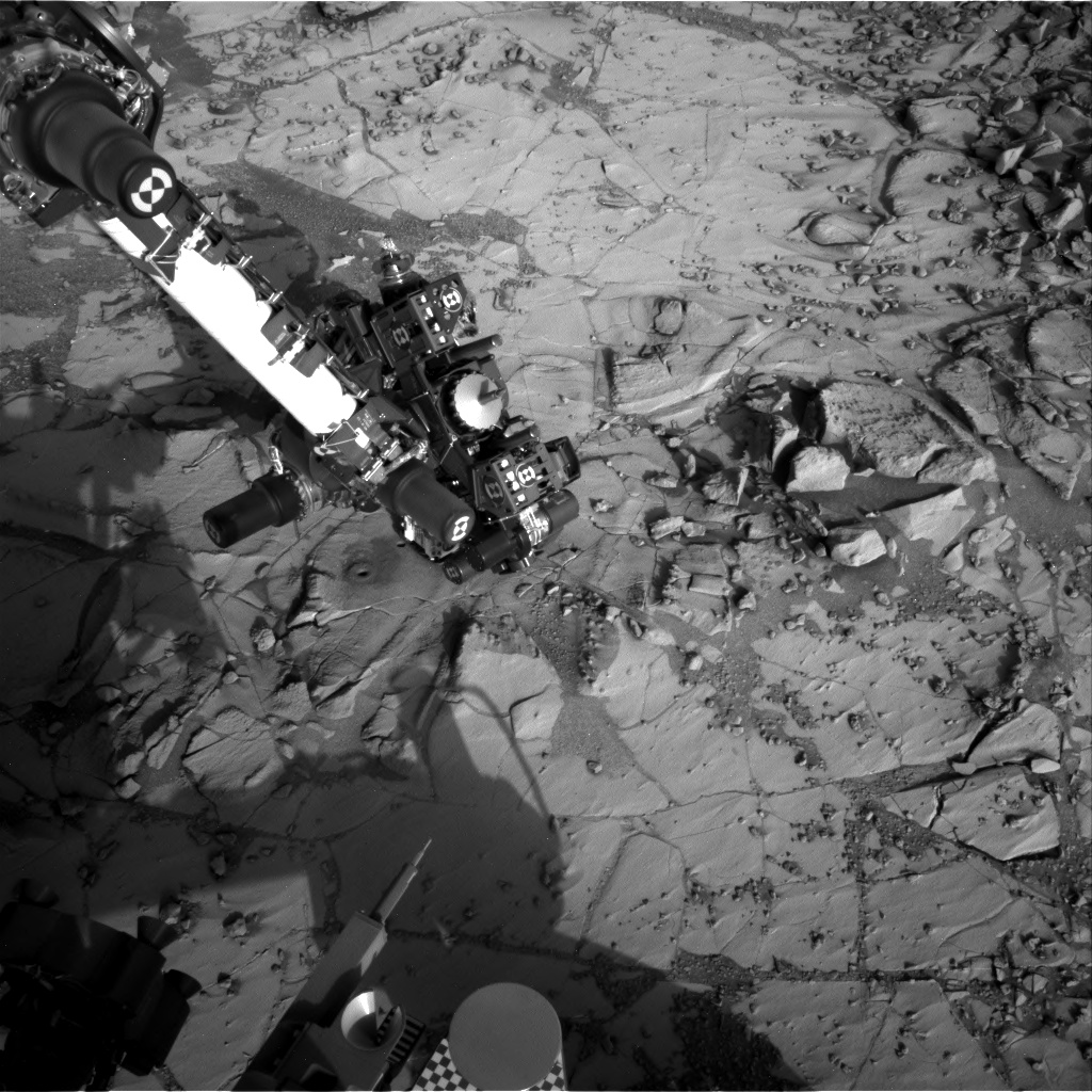 Nasa's Mars rover Curiosity acquired this image using its Right Navigation Camera on Sol 888, at drive 0, site number 45