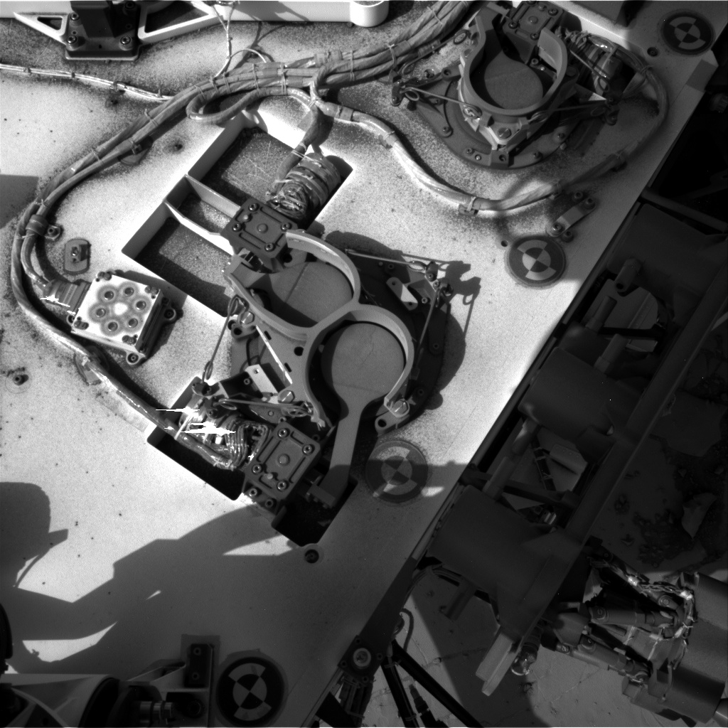 Nasa's Mars rover Curiosity acquired this image using its Right Navigation Camera on Sol 891, at drive 0, site number 45