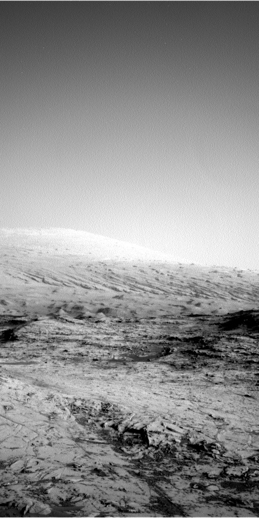 Nasa's Mars rover Curiosity acquired this image using its Left Navigation Camera on Sol 893, at drive 0, site number 45