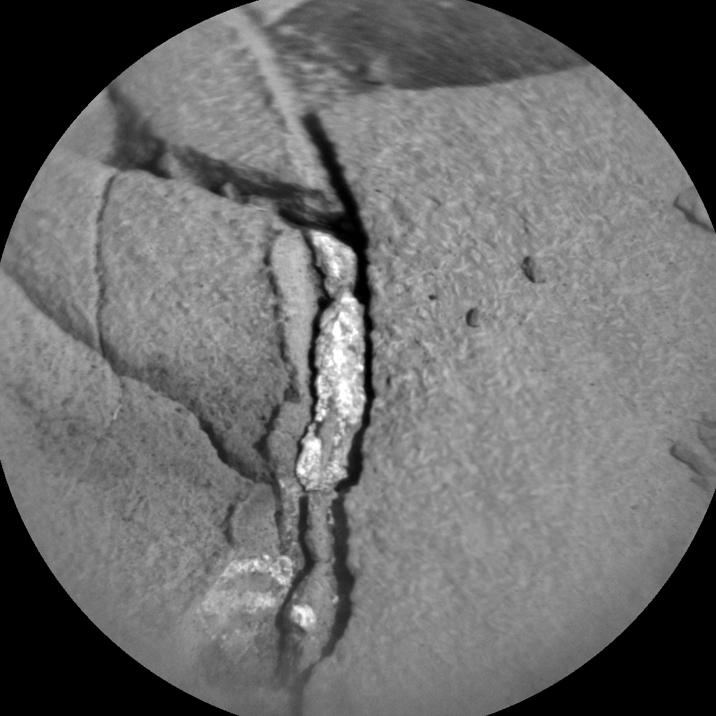 Nasa's Mars rover Curiosity acquired this image using its Chemistry & Camera (ChemCam) on Sol 893, at drive 0, site number 45