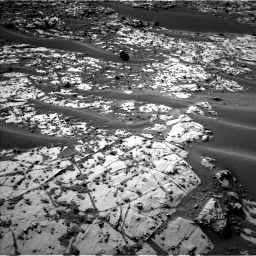 Nasa's Mars rover Curiosity acquired this image using its Left Navigation Camera on Sol 896, at drive 126, site number 45
