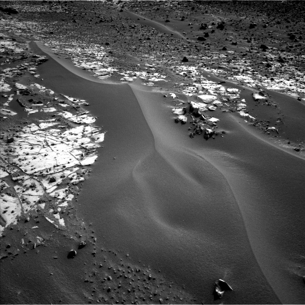 Nasa's Mars rover Curiosity acquired this image using its Left Navigation Camera on Sol 896, at drive 150, site number 45