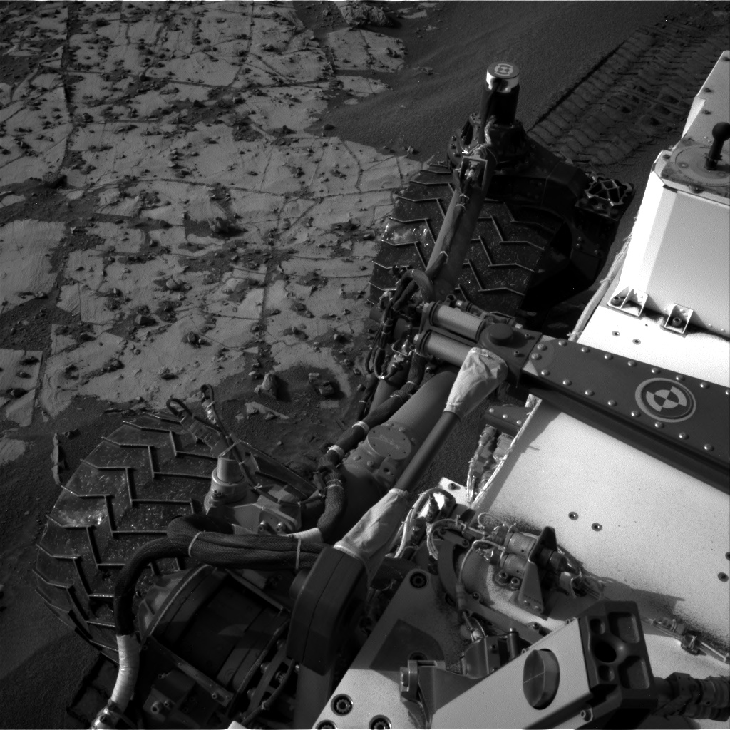 Nasa's Mars rover Curiosity acquired this image using its Right Navigation Camera on Sol 896, at drive 150, site number 45