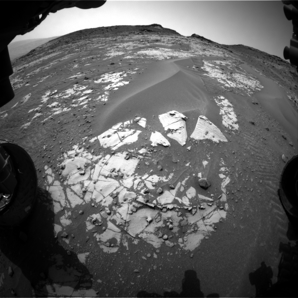Hazcam view on sol 900