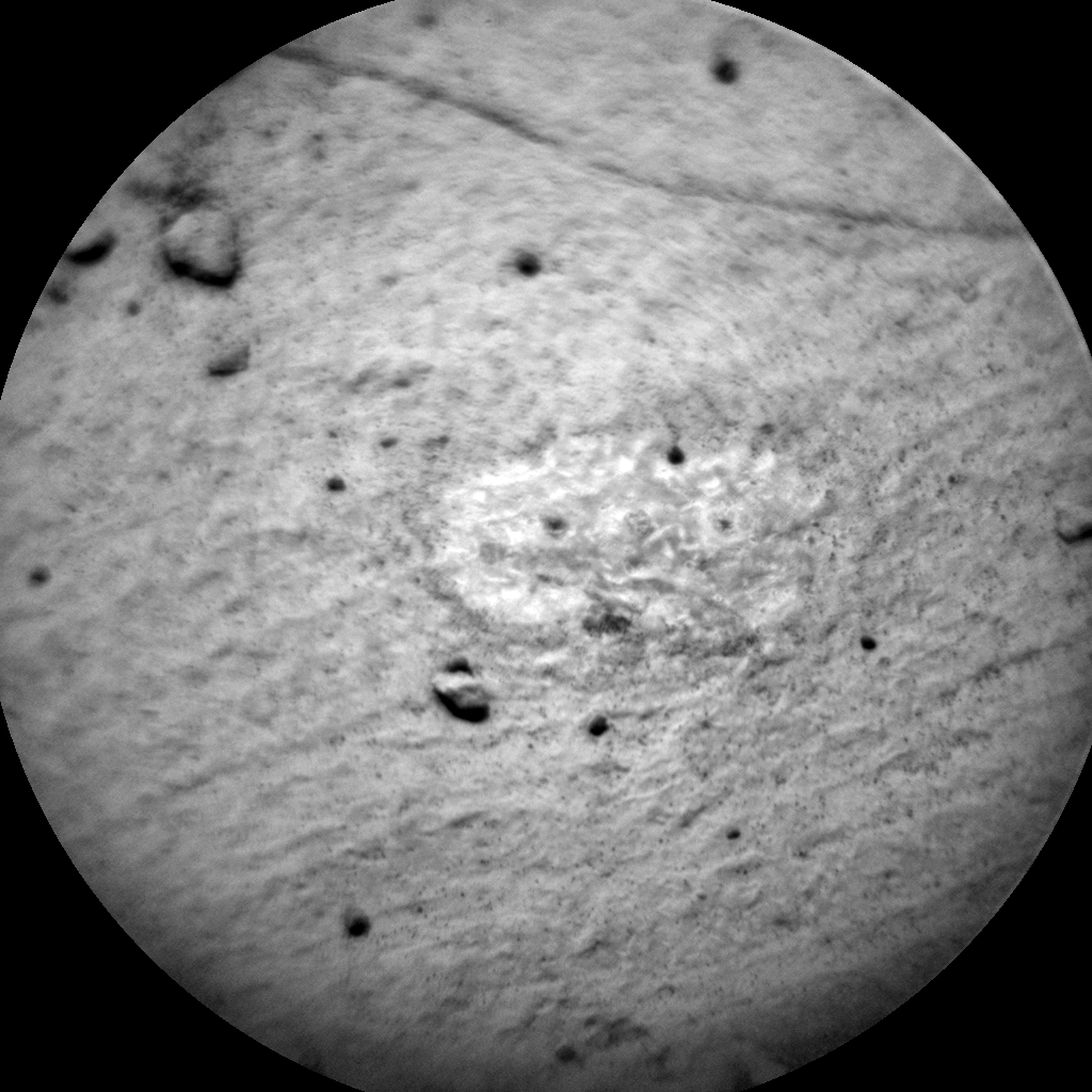 Nasa's Mars rover Curiosity acquired this image using its Chemistry & Camera (ChemCam) on Sol 900, at drive 150, site number 45