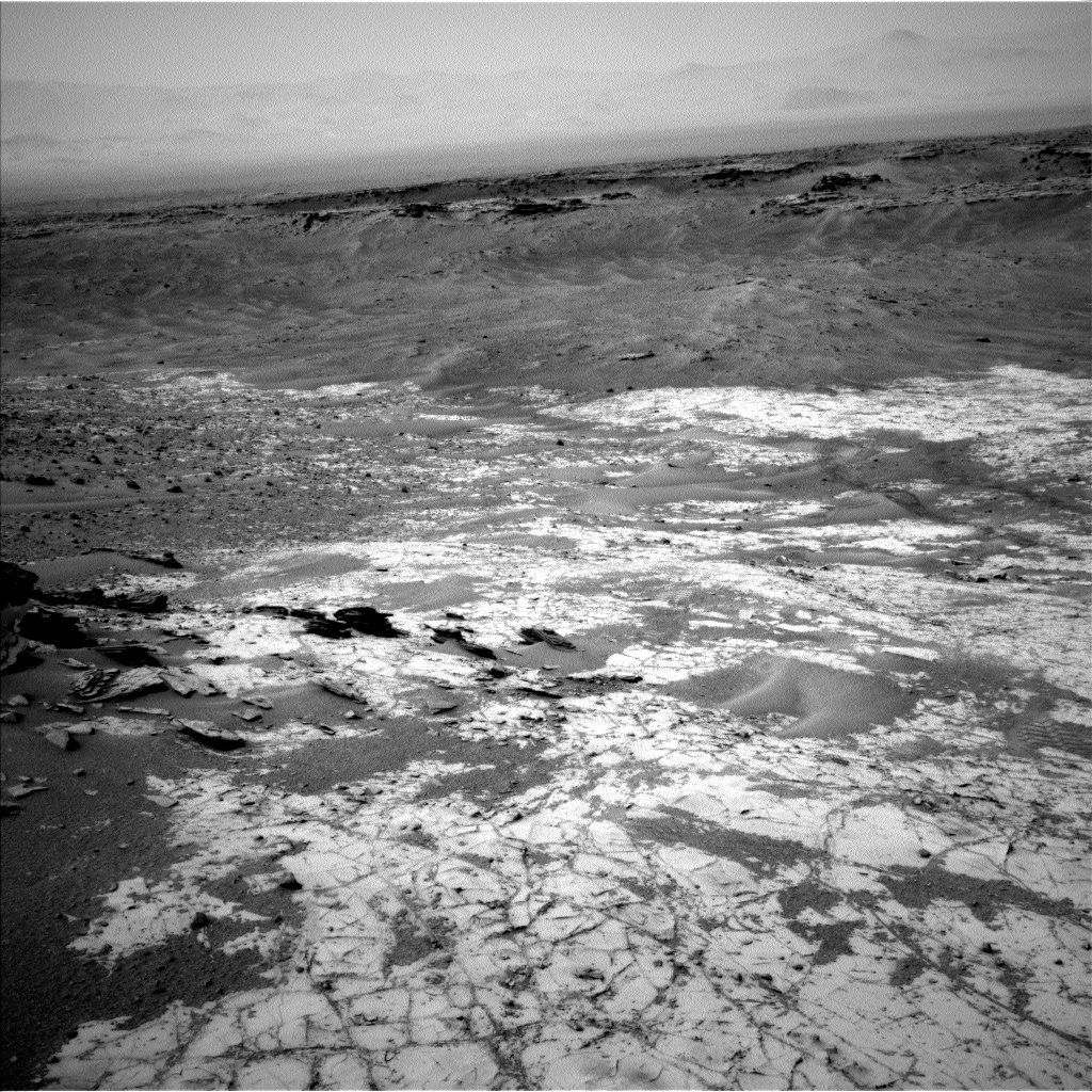 Nasa's Mars rover Curiosity acquired this image using its Left Navigation Camera on Sol 901, at drive 366, site number 45