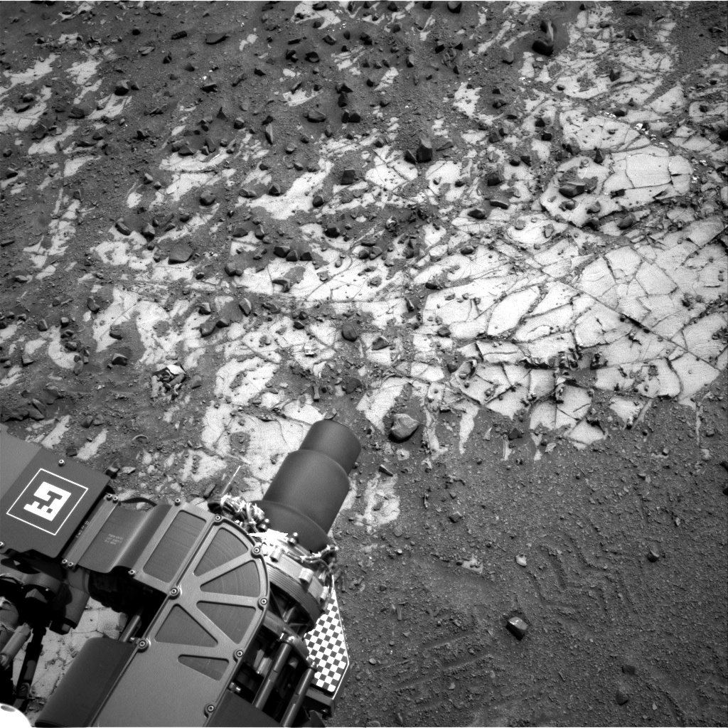 Nasa's Mars rover Curiosity acquired this image using its Right Navigation Camera on Sol 901, at drive 366, site number 45