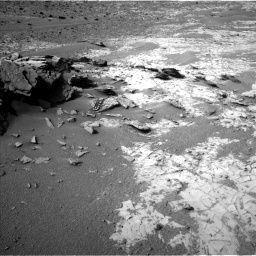Nasa's Mars rover Curiosity acquired this image using its Left Navigation Camera on Sol 903, at drive 414, site number 45