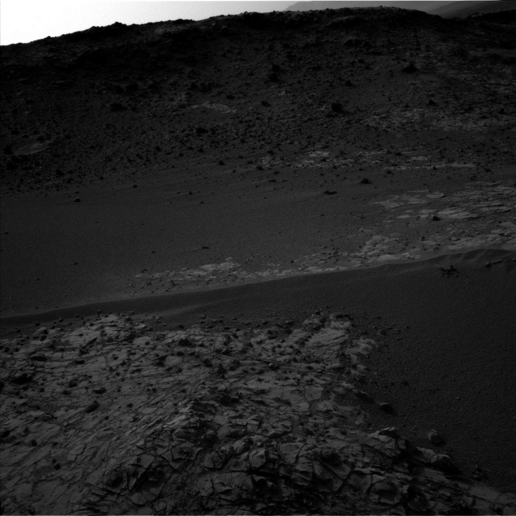 Nasa's Mars rover Curiosity acquired this image using its Left Navigation Camera on Sol 904, at drive 450, site number 45