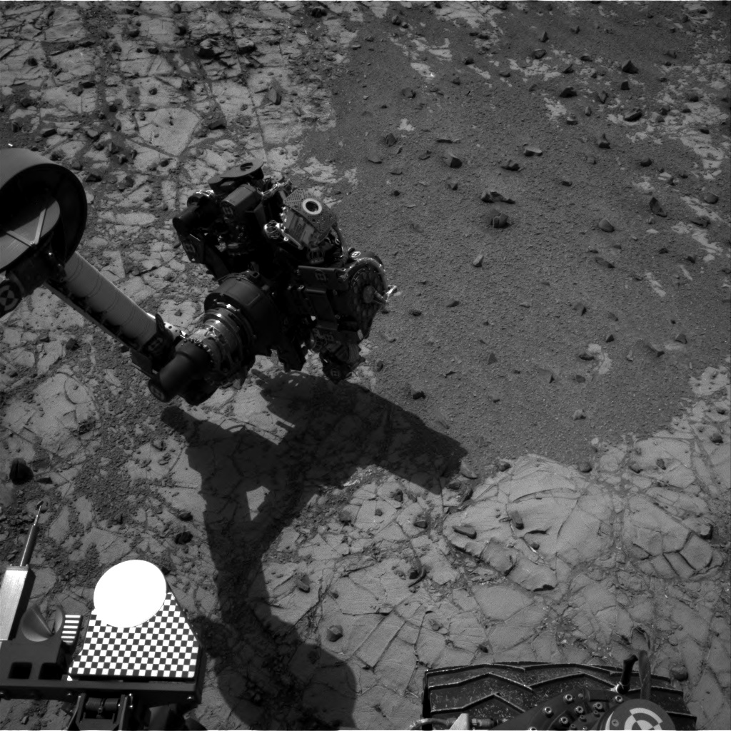 Nasa's Mars rover Curiosity acquired this image using its Right Navigation Camera on Sol 905, at drive 450, site number 45